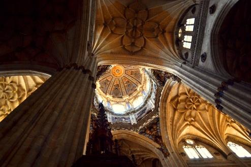Inside Catedral Nueva de Salamanca