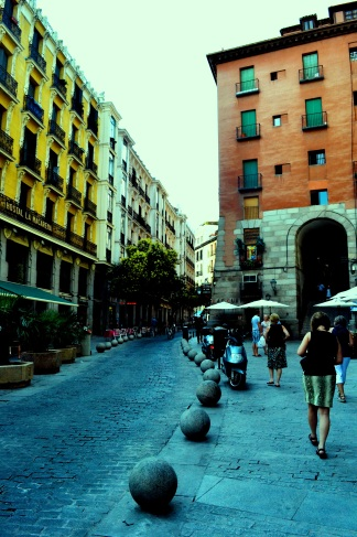 Walking the streets of Madrid