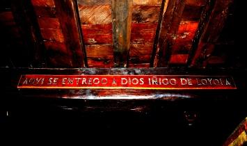 """Here Ignatius of Loyola surrenderd himself to God"""