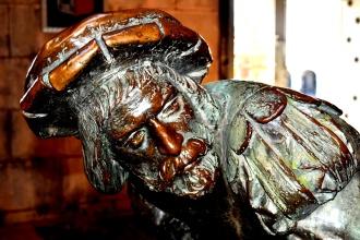 statute of St. Ignatius